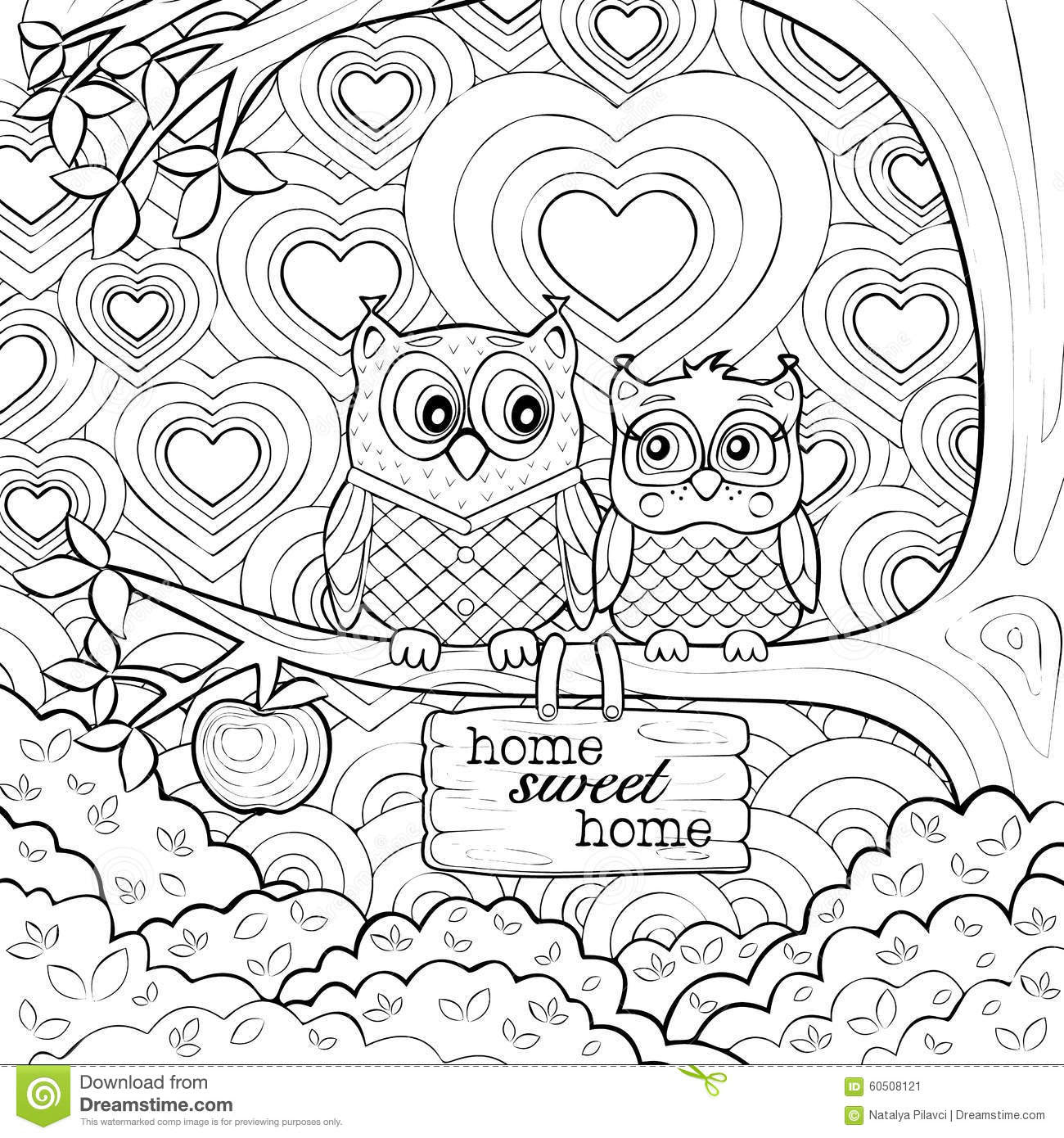 95 EASY COLORING BOOK FOR ADULTS THERAPY PRINTABLE PDF ...