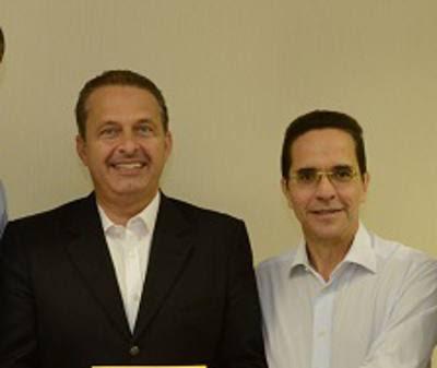 Eduardo Campos e Maurício Rands/Divulgação