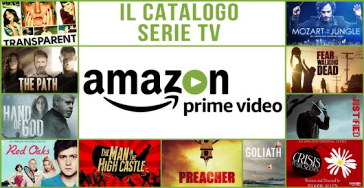 Sbarca in Italia Amazon PrimeVideo
