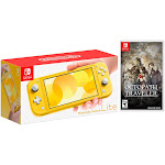 Nintendo Switch Lite Yellow Bundle with Octopath Traveler NS Game Disc - 2019 New Game!