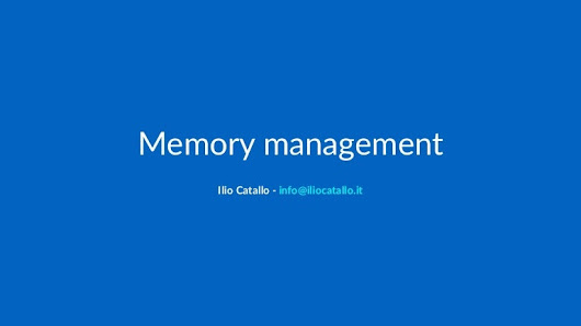 Memory management in C++