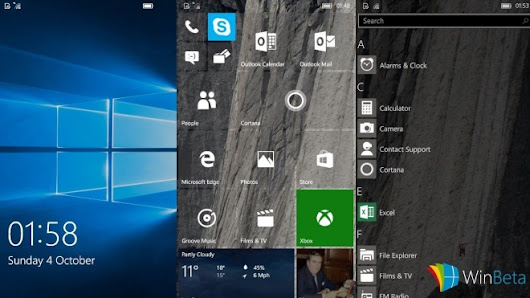 Windows 10 Mobile Build 10549: Android-Subsystem wieder entfernt