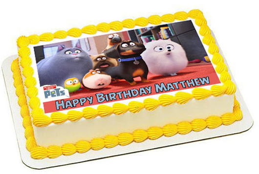 The Secret Life of Pets 3 Edible Cake Topper & Cupcake Toppers – Edible Prints On Cake (EPoC)