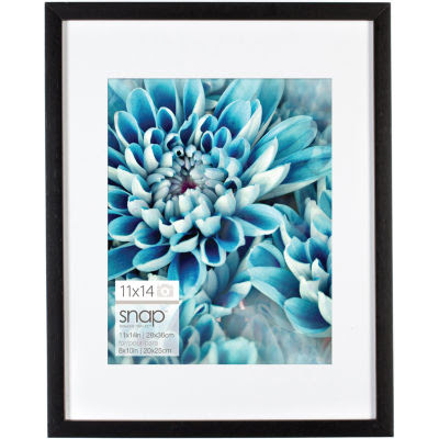 Snap 11x14 Black Wood Frame Matted To 8x10 Jcpenney