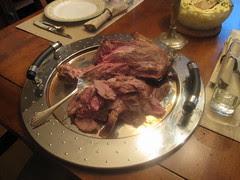 anchovy and garlic lamb