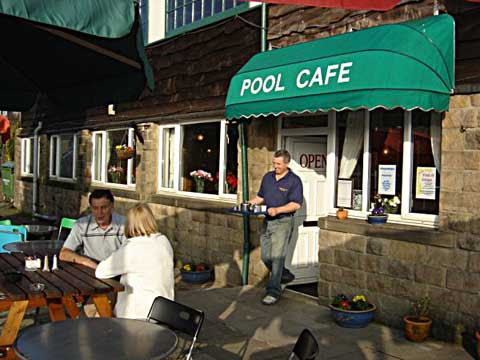 Image result for swimming pool cafe