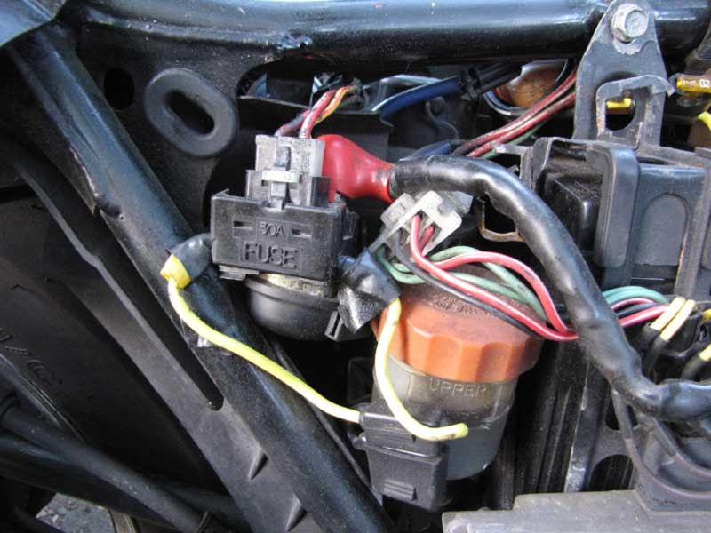 Solenoid Replacement Main Fuse Fix V4musclebike Com