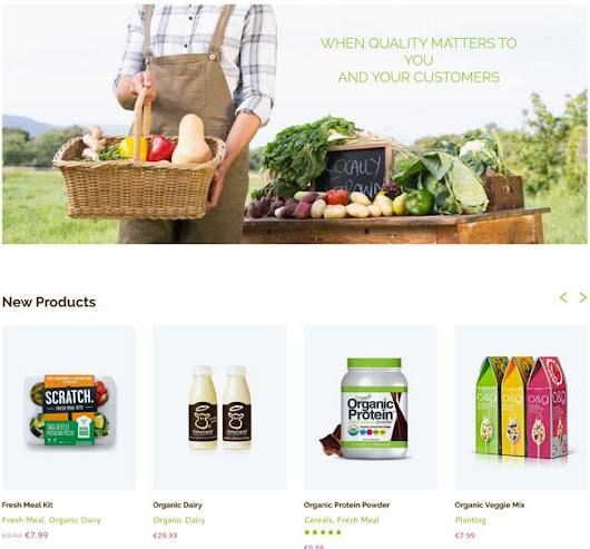 15+ Best WooCommerce Themes For Organic, Food and Drink Shops 2016