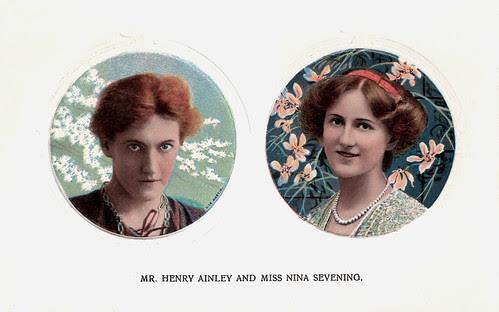 Henry Ainley, Nina Sevening