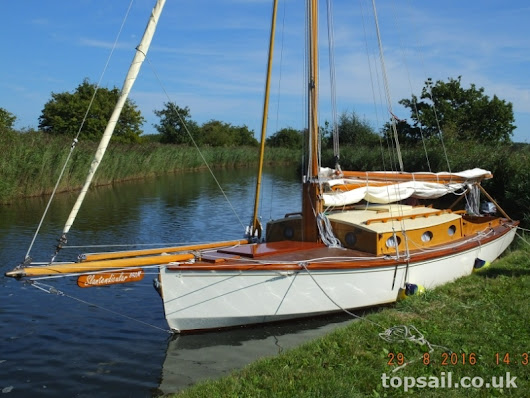 Unique River Cruiser Class Sailing Cruiser for sale - Topsail Marine Yacht Brokers (1906)