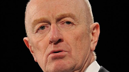 RBA governor Glenn Stevens says Australian dollar will be 'materially lower'