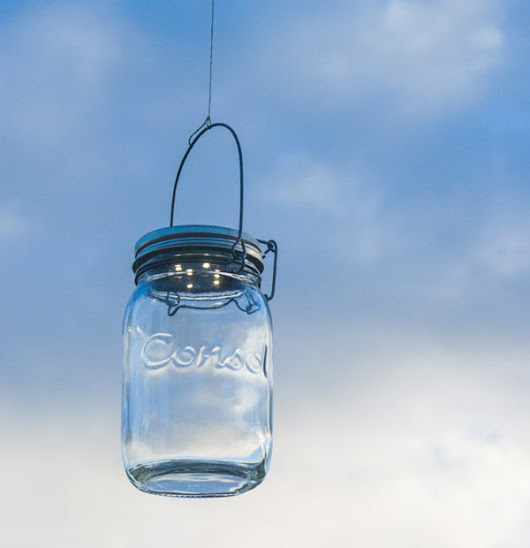 Lampes solaires (Consol Solar Jar)