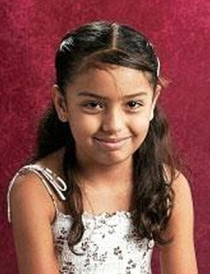 Victim: Brisenia Flores was shot dead alongside her father in her home in Flores, Arizona