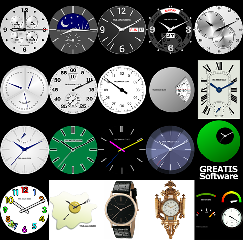 Analog Clock Java Classes with Demos • True Analog Clock for Android