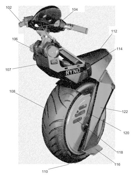 THE PATENT SEARCH BLOG: The Ryno self-balancing unicycle