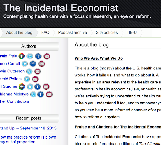 Interested in health? You too should be reading Piketty. | The Incidental Economist