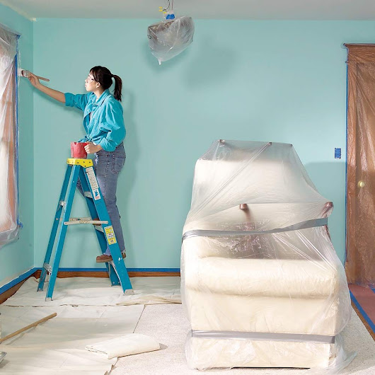Paint a Room Without Making a Mess! | The Family Handyman