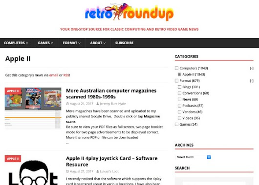 Introducing Retro Roundup & a2.click | Juiced.GS