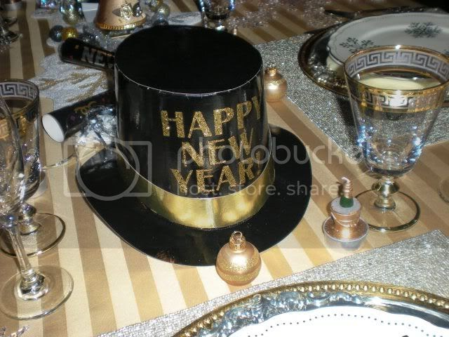 Carolinajewel S Table Happy New Year Tablescape