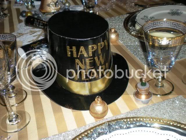 Carolinajewel S Table Happy New Year Tablescape
