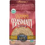 Lundberg Farms Organic Basmati Rice, California Brown - 32 oz bag