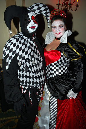 The Queen of Hearts and Her Jester