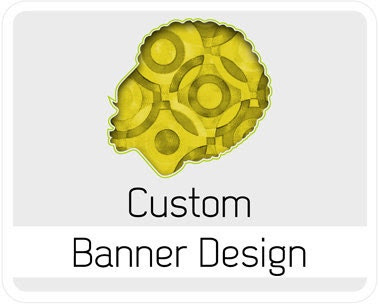 Custom Banner Design - Graphic Design illustration