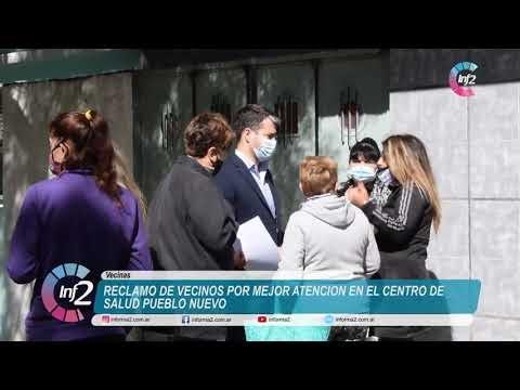Vecin@s reclamaron por mejor atención en el Centro de Salud de Pueblo Nuevo