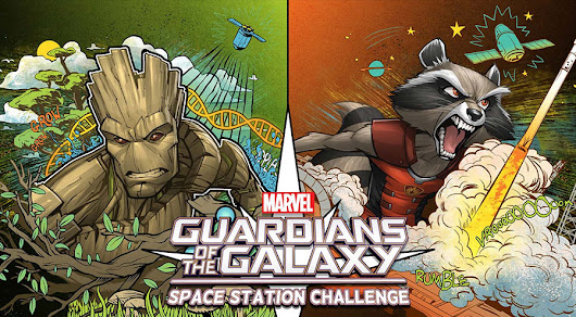 Guardians of the Galaxy Space Station Challenge Winning Projects Selected