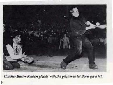 Buster Keaton Boris Karloff Frankenstein Monster