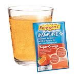 Emergen-C Immune Plus System Support Drink Mix, Super Orange - 30 Packets