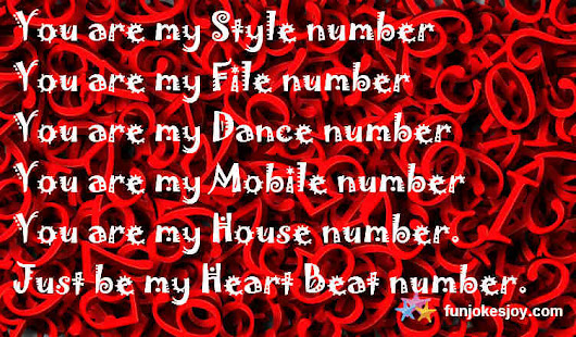 These Valentine Numbers Could Help You Steal Your love! - funjokesjoy