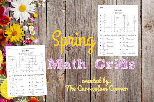 Spring Math Grids (Coordinate Grid) - ZION POWER SOLUTIONS