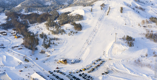 Ski resort and National park at Khvalynsk «