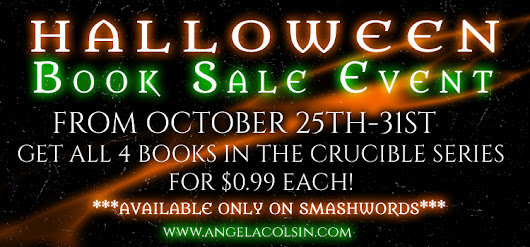 Halloween Book Sale Event - 1 week, 4 Books, $0.99 Each!