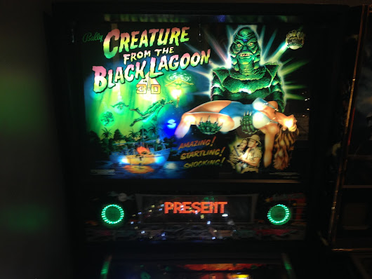 Creature from the Black Lagoon Pinball - Game Room Info