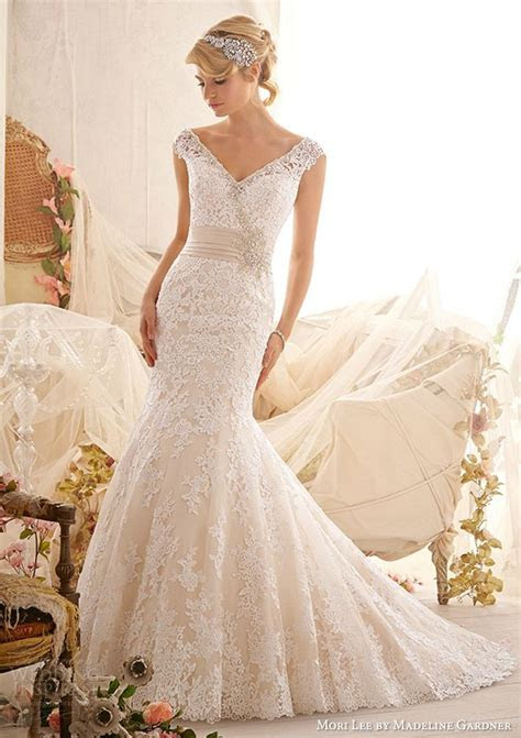 Mori Lee by Madeline Gardner Wedding Dresses : Spring 2014