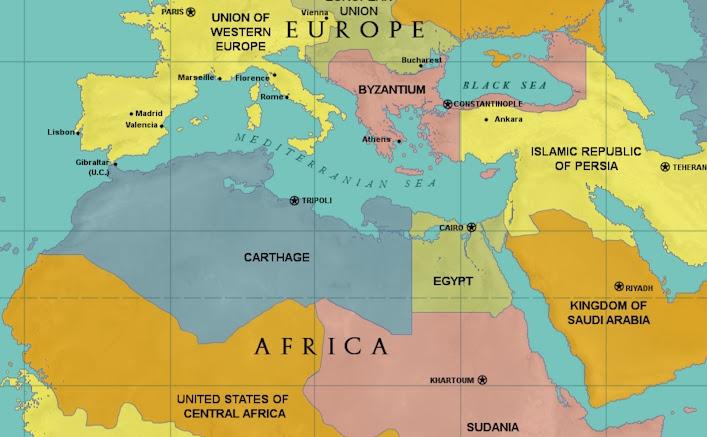 Carthage World Map | GOOGLESAND