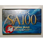 TDK SA100-4 100-Minute High Bias IECII/Type II Blank Audio Cassette (4-Pack) - Unlimited Cellular