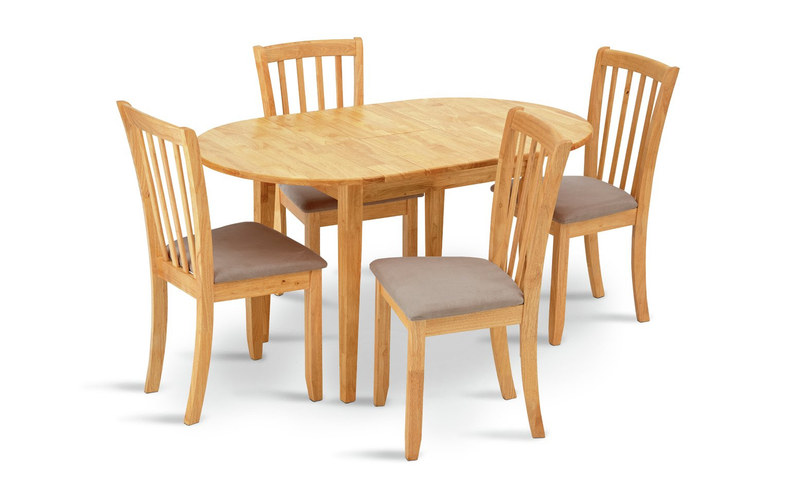 Buy Collection Banbury Ext Solid Wood Table  4 Chairs  Cream at Argos.co.uk  Your Online Shop