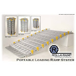 Roll-A-Ramp A13010A19 30 in. x 120 in. Portable Loading Ramp