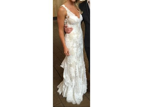 Monique Lhuillier Calla, $2,695 Size: 4   Used Wedding Dresses