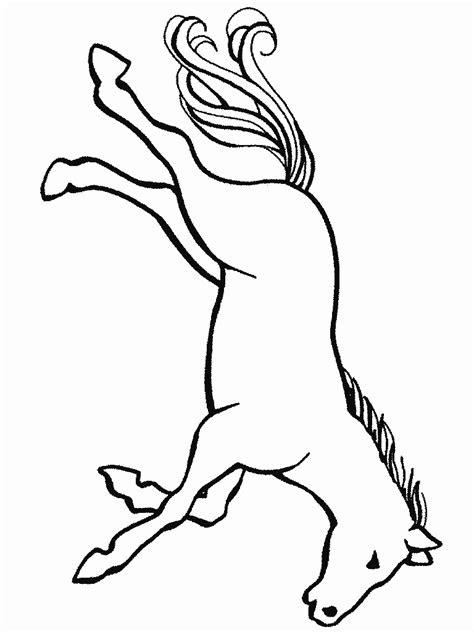 kleurplaten dieren paarden kleurplaten tekeningen dieren