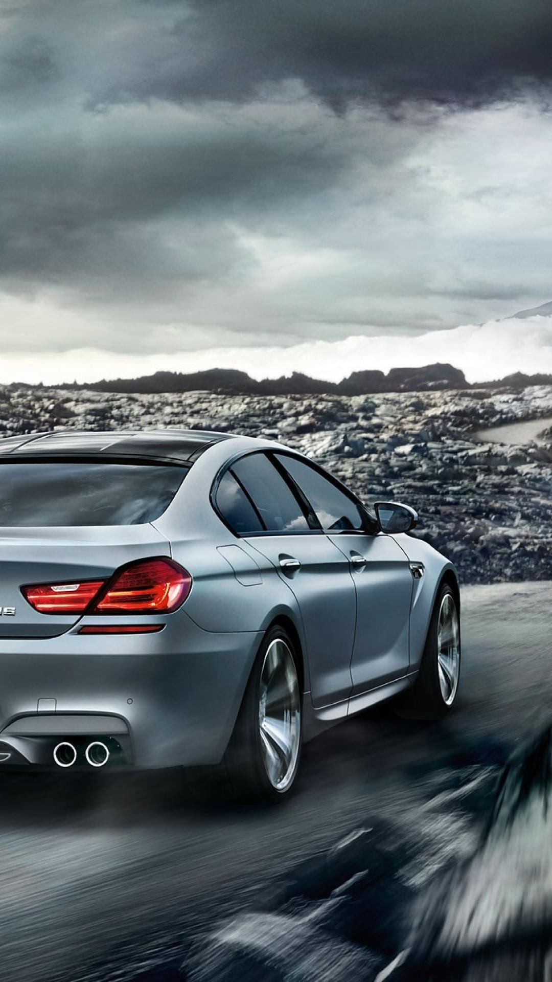 Gran coupe BMW M6  Htc one wallpaper