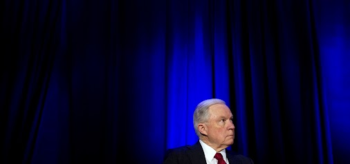 """Jeff Sessions' Dog Whistle to White Supremacy: Sheriffs Guard Our """"Anglo-American Heritage"""": https:/..."""
