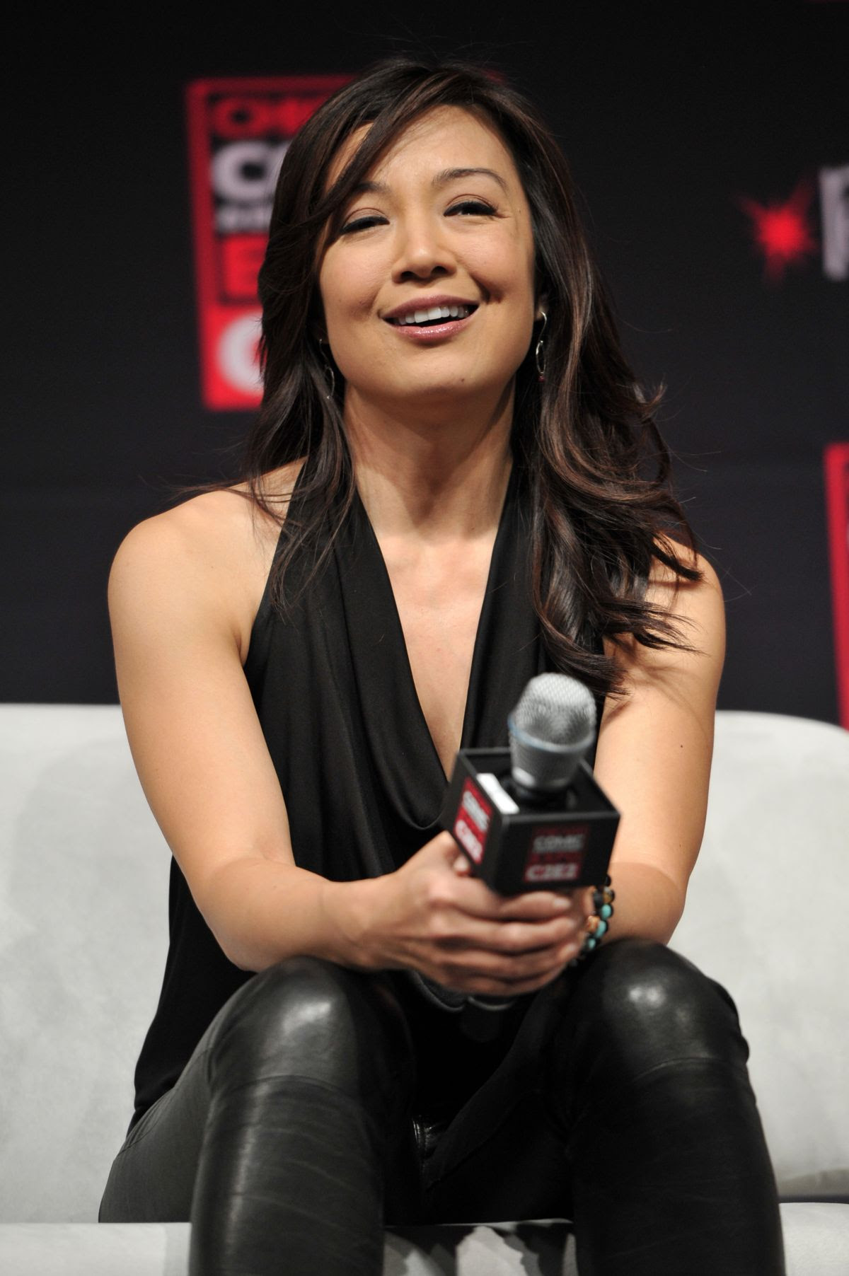 MING-NA WEN at Chicago Comic and Entertainment Expo