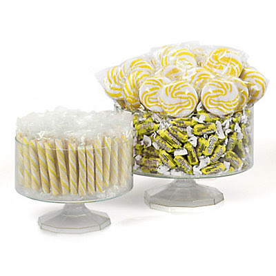 Yellow - Party Candy Kit  Centerpiece Idea