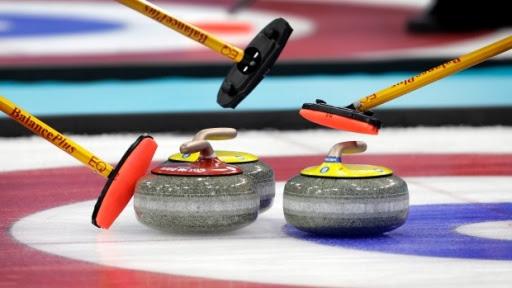 Image result for curling rocks