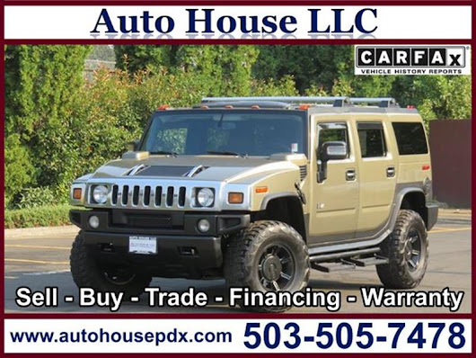 2005 HUMMER H2 - Auto House LLC - Used Car Dealership - Portland OR