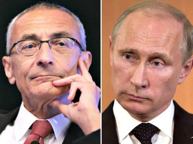 Podesta and Putin